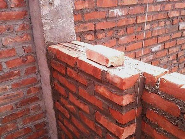 Những vật liệu cần thiết để xây tường