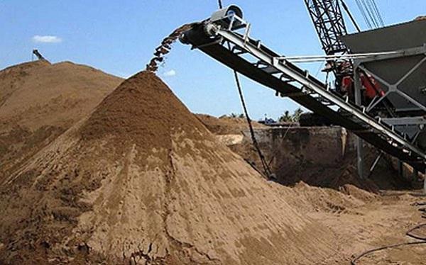 Những loại cát trong xây dựng