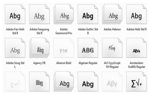Thực hiện cách cài font chữ cho Win 10 sẽ giúp máy tính có thêm nhiều kiểu chữ mới