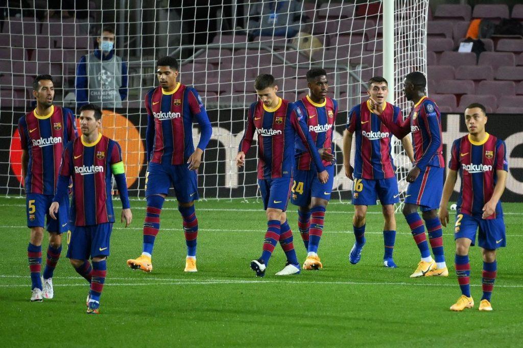 """Barca ngày càng """"yếu bóng vía"""""""
